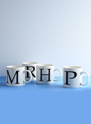 Morhipo Home Porselen Harf Kupa L Beyaz